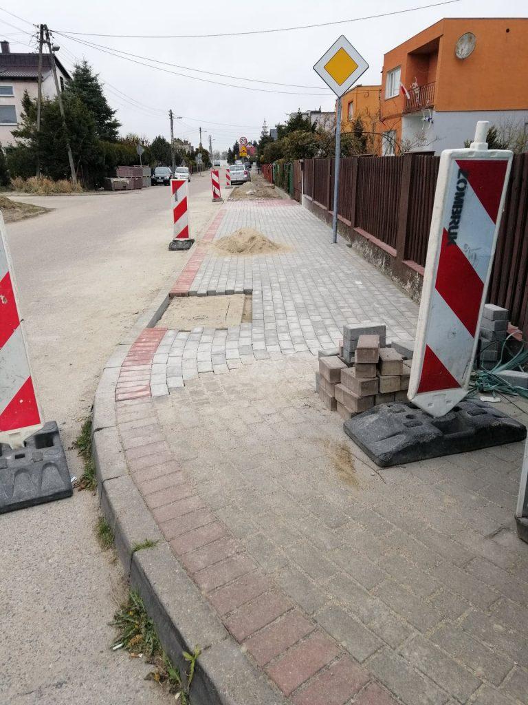 miasto puck paderewskiego chodnik