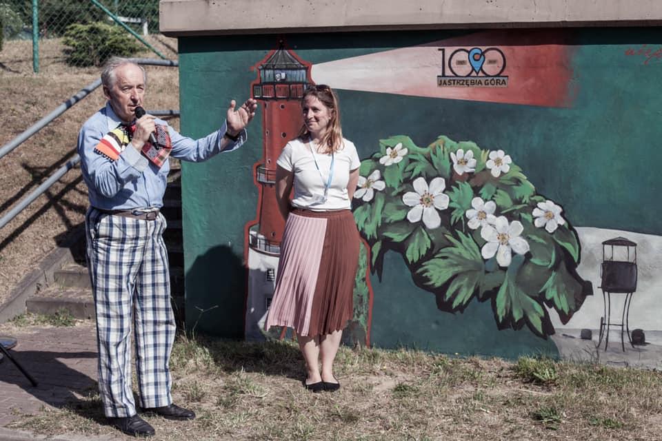 100 lecie jastrzębiej góry mural