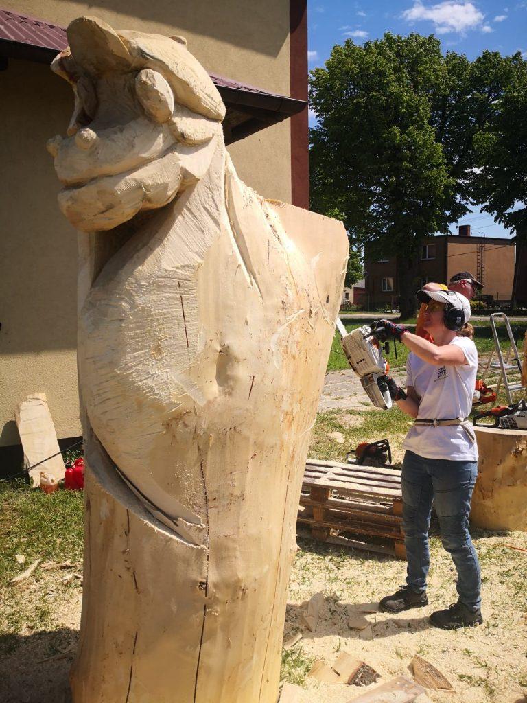 Żelistrzewo 2. Bajkowy Plener Rzeźbiarski