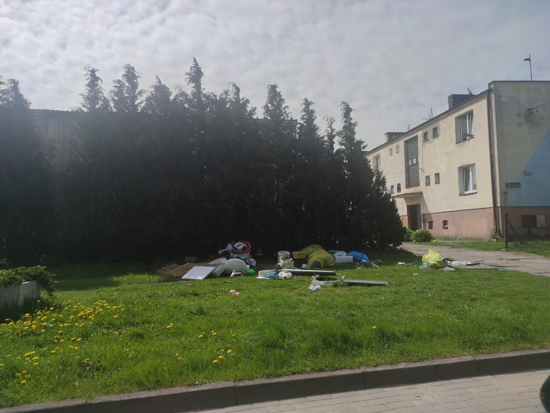 śmieci Białogóra wystawka gmina Krokowa