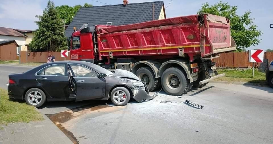wypadek w łebczu 2021