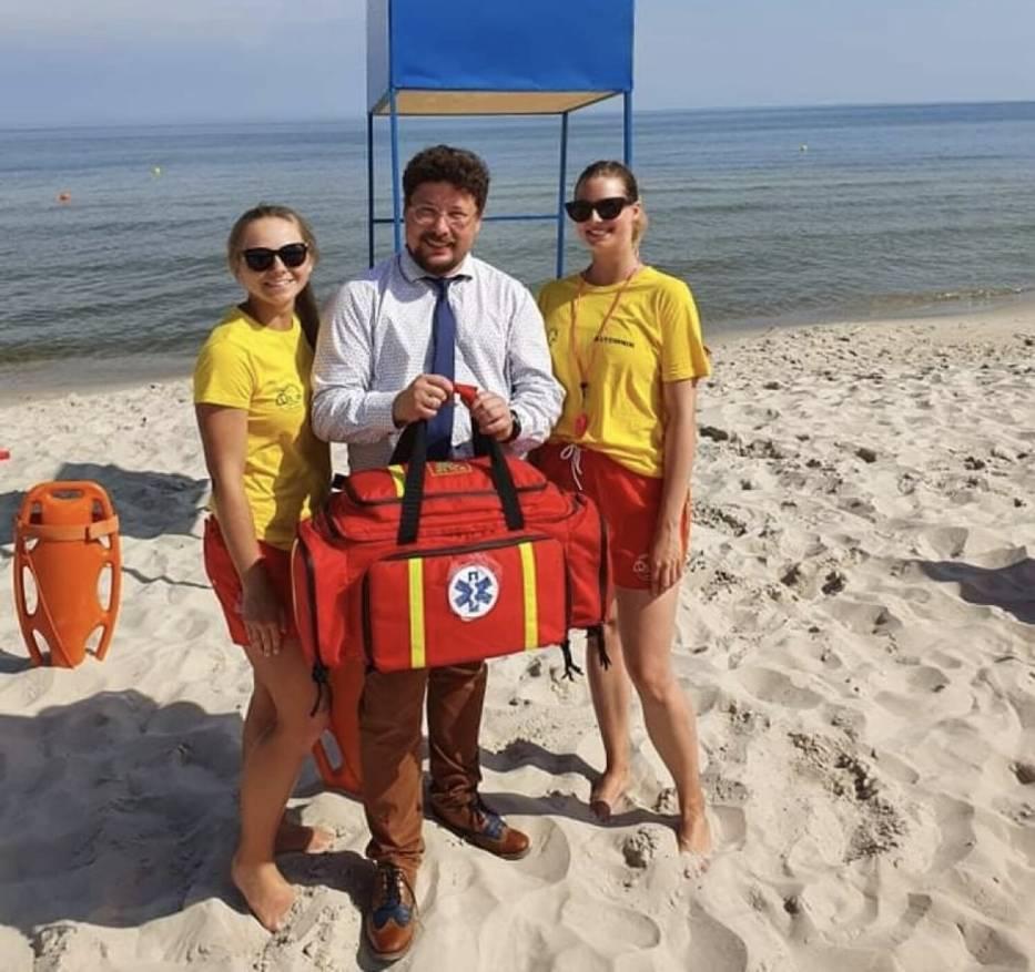 karwieńskie błota plaża ratownicy