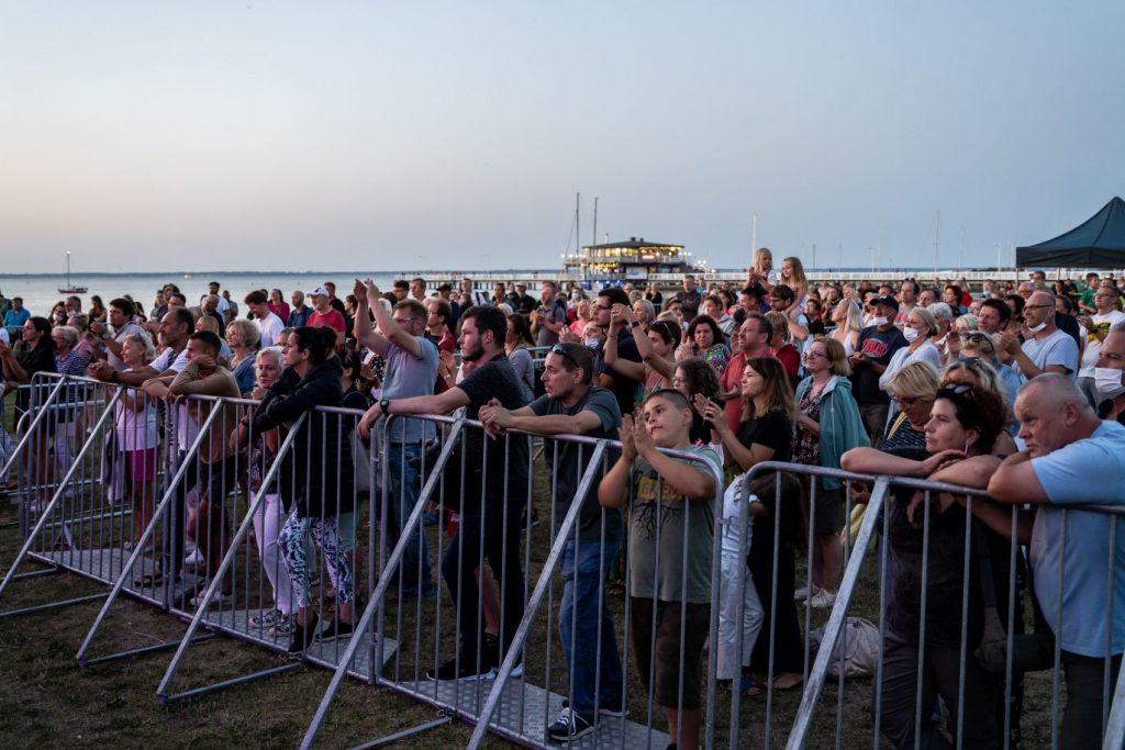 zielona plaża puck koncert raz dwa trzy i seweryn z zespołem