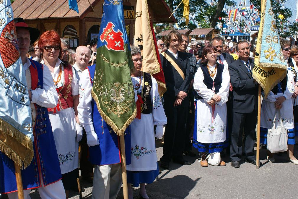 12 Światowy Zjazd Kaszubów w Pucku pielgrzymka morska