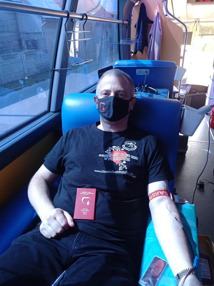 pobór krwi połchowo wakacje 2021