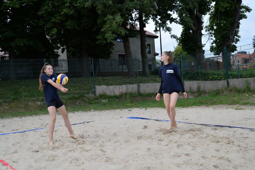 Puck 3. Ogólnopolskie Grand Prix w Mini siatkówce plażowej