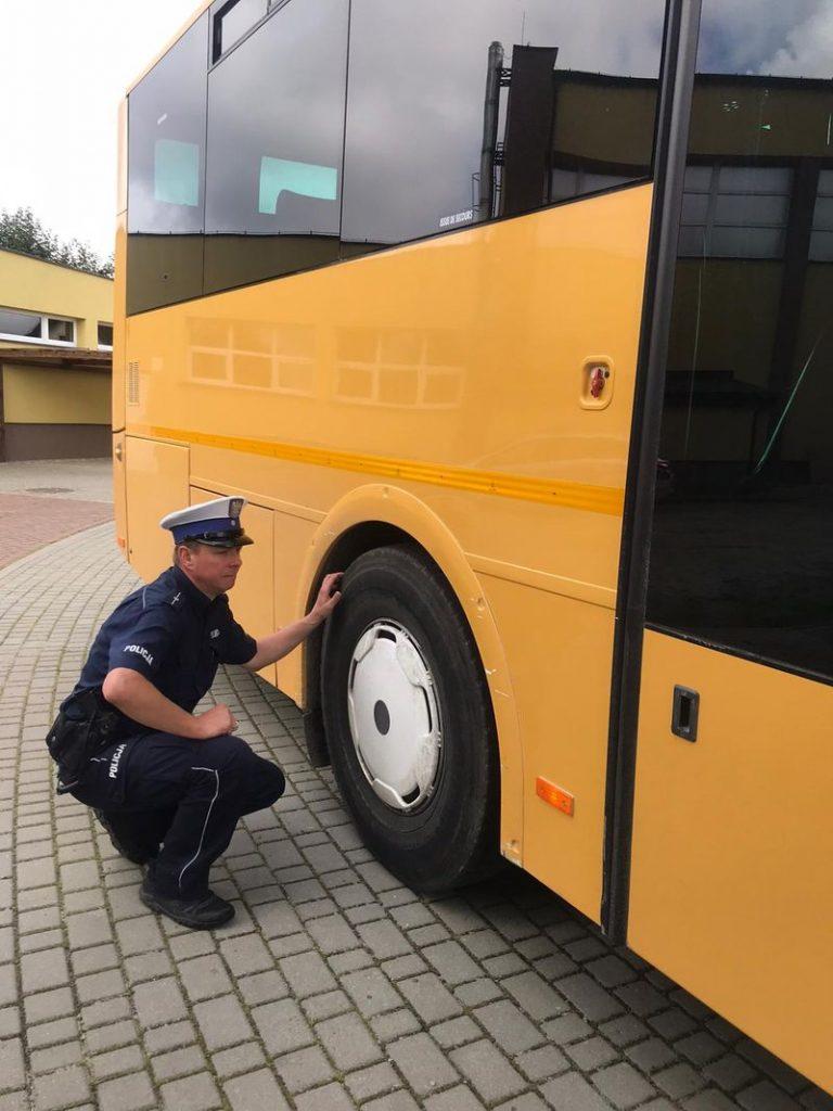 policja puck autobusy
