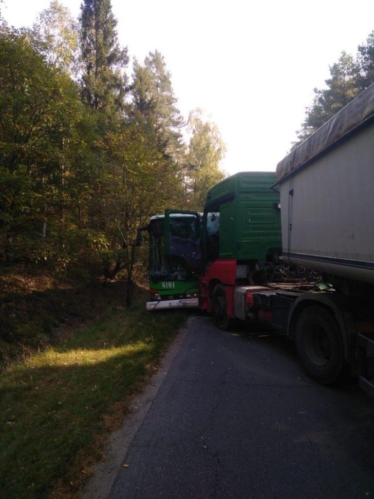 Wypadek w Piaśnicy 2021