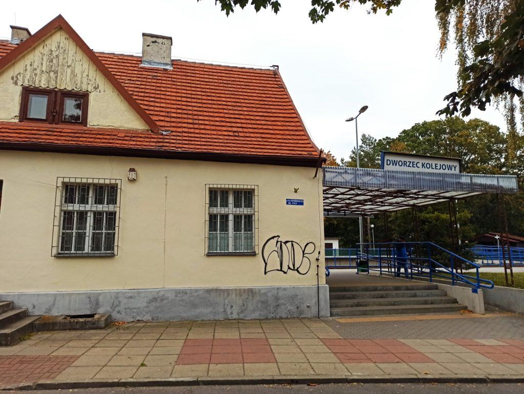 dworzec PKP jastarnia