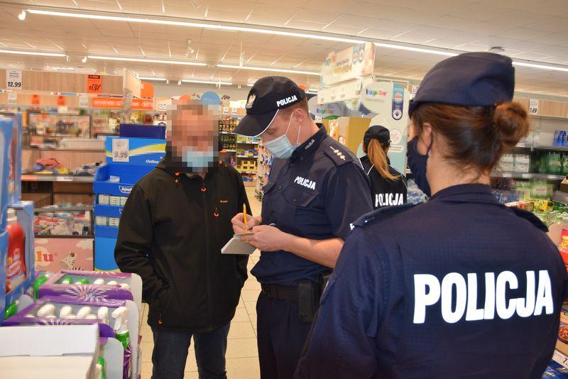 policja puck koronawirus
