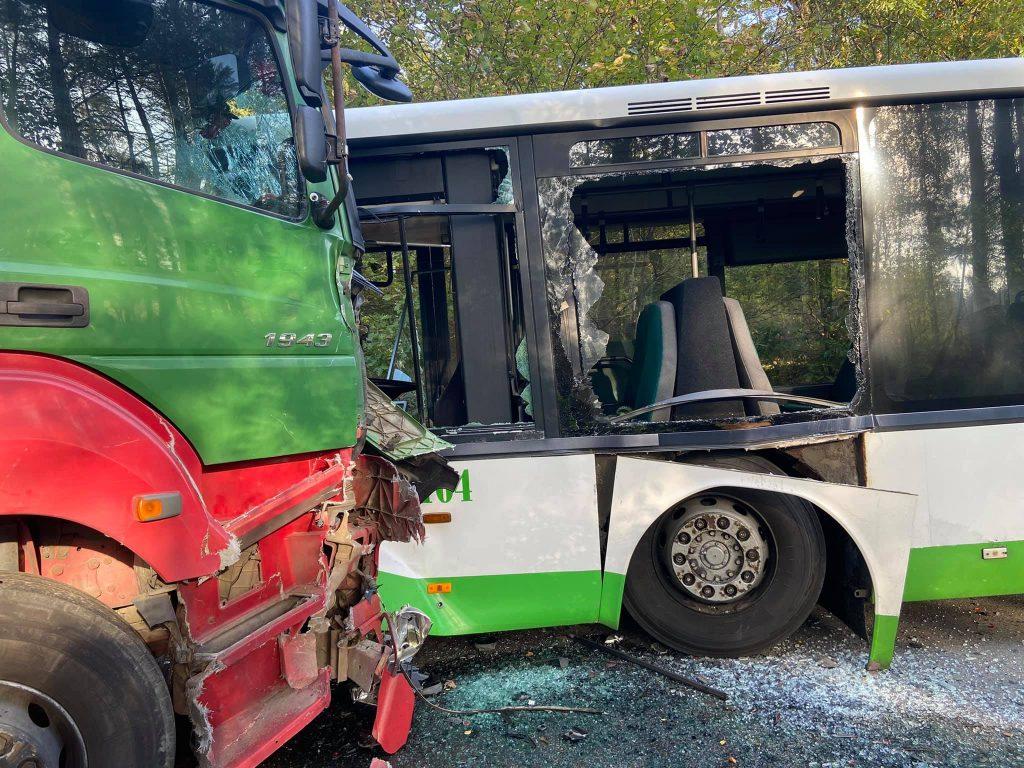 wypadek piaśnica autobus Pks